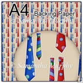 ref1_bp330 - Beige Mens Tie Fathers Day