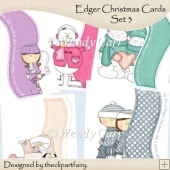 Christmas Cards Set 3 - Edgers(Retiring in July)