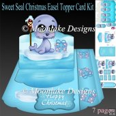 Sweet Seal Christmas Easel Topper Card Kit