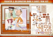 Painter and Decorator Dude 4 Sheet Mini Kit