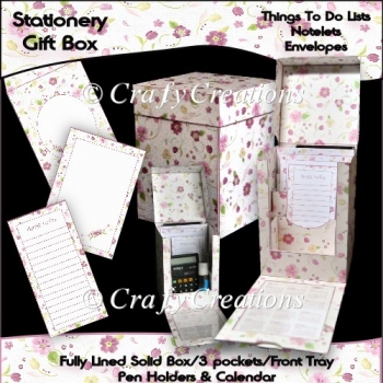 Floral Stationery Gift Box