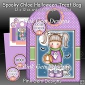 Spooky Chloe Halloween Treat Bag/Trick or Treat