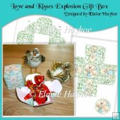 Love and Kisses Explosion Gift box