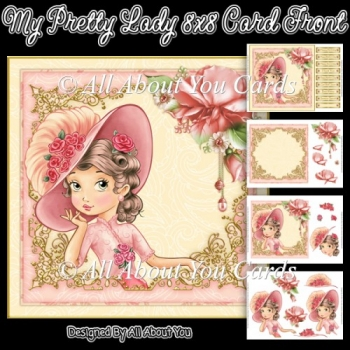 My Pretty Lady Card Front