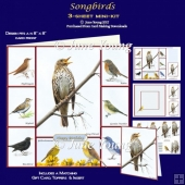 Songbirds - 3-Sheet Mini-Kit