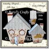 Novelty Shaped Gift Box - Ewe Cottage