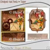Steampunk Easel Panels & Topper