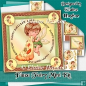 Pizza Fairy Birthday Mini Kit