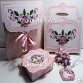 ROSE BOUQUET ENVELOPE & GIFT ACCESSORIES