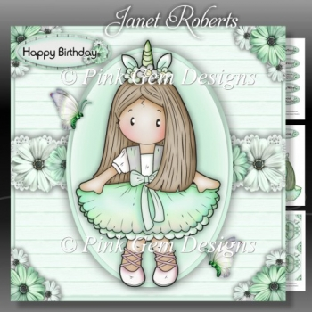 Ballerina Chloe Green Mini Kit