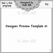 Designer Preview Template 01