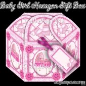 Baby Girl Hexagon Gift Box