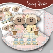 Sheep Rocker Card