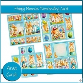Happy Bunnies Neverending Card