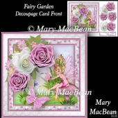 Fairy Garden - Decoupage Card