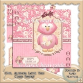 Owl Always Love You Card Front
