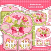 Birdie Lane Gatefold Card
