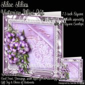 Lilac Lilies Victorian Mini Kit