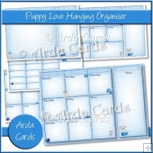 Puppy Love Hanging Organiser