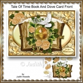 Tale Of Time Book And Dove Card Front