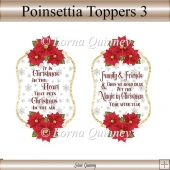 Poinsettia Toppers 3