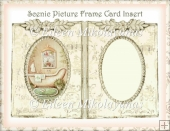 Scenic Picture Frame Card Insert 2