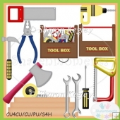 Mr Fix It Tools Designer Resource Graphics