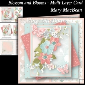Blossom and Blooms - Multi-Layer Card