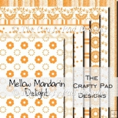 Mellow Mandarin Delight Paper Pack