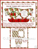 Christmas Teacup Card and Gift Set