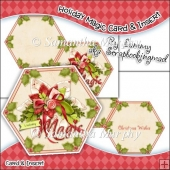 Holiday Magic Hexagon Card & Card Insert