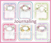 Mini Journaling Card Inserts, Tags, Labels