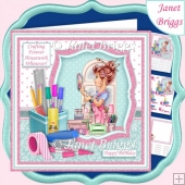 CRAFTING FOREVER HOUSEWORK WHENEVER Humorous 7.5 Decoupage Kit