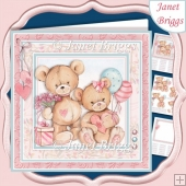 BEARING GIFTS 7.5 Decoupage & Insert All Occasions