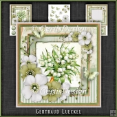 Vintage Shabby Chic Blossom Card Kit 1161