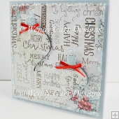 CHRISTMAS WORDS CARD