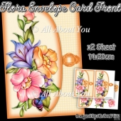 Flora Envelope Card Front