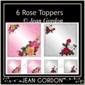 6 Rose Toppers