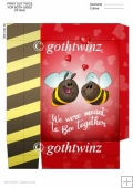 Bee Together Valentines Day Mini Gift Bag