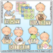 Baby Blocks Clip Art Download