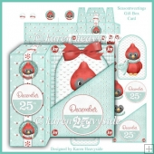 Seasontweetings Gift Box Card