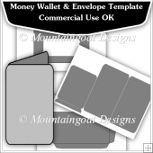Money Wallet & Envelope Template CU OK