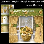 Christmas Twilight - Through the Window Card