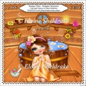 Pamper Time - Designer Resource Clipart Kit For Cards & Scrap