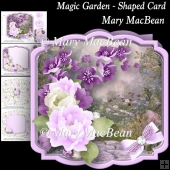 Magic Garden - Shaped Card
