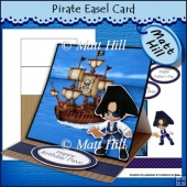 Pirate Easel Card