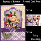 Promise of Summer Pyramid Card Front