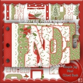 Simple Joy Noel Word Book