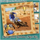 MotoCross Birthday Mini Kit
