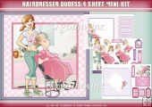 Hairdresser Dudess 4 Sheet Mini Kit